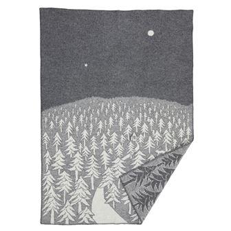House in the Forest wool blanket from Klippan Yllefabrik ...