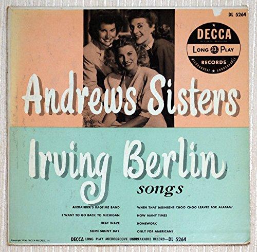 Irving Berlin Songs