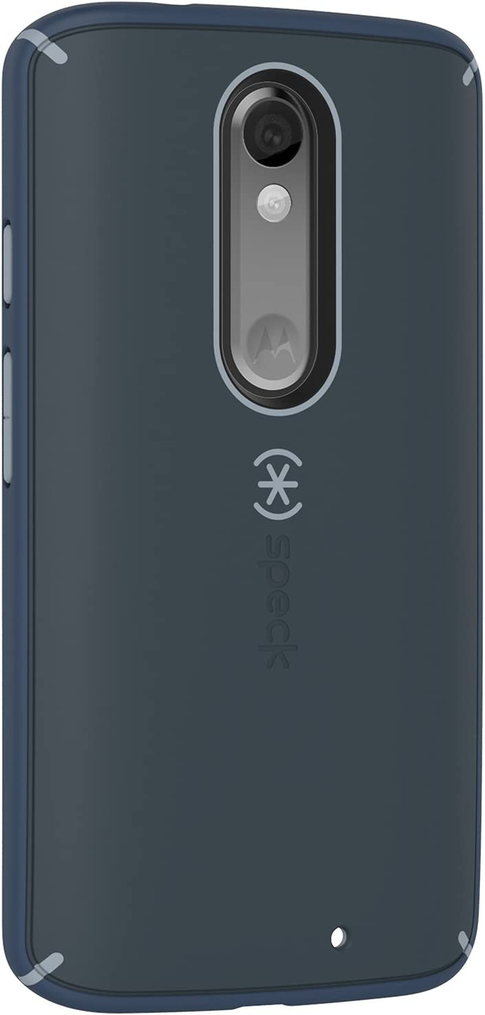 Speck Products Mighty Shell Cell Phone Case for Motorola Droid Turbo 2 - Retail Packaging - Shadow Grey