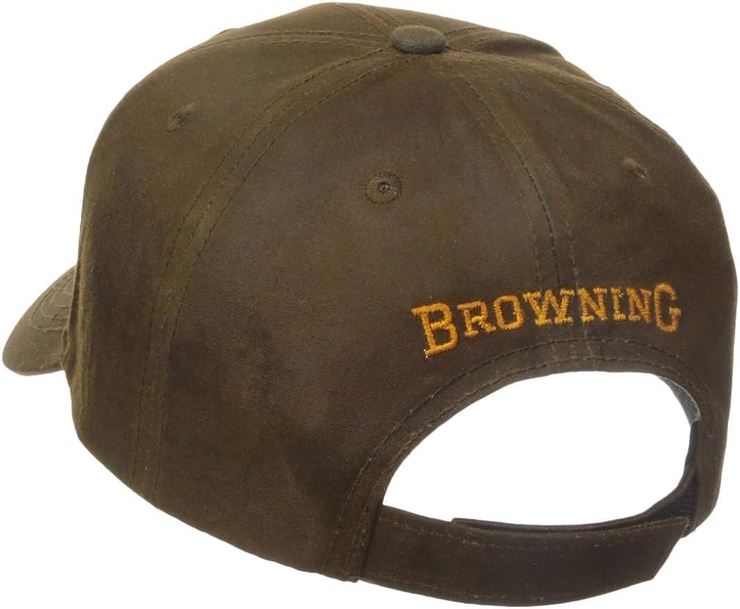 Browning Durawax 3D Gorra, Unisex Adulto, Verde, Talla Única ...