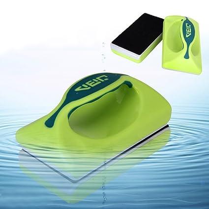Gearmax® Magnética Cepillo Raspador limpiador de vidrio para Acuario Pescado tanque algas
