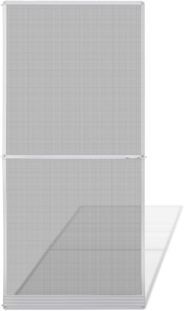 Festnight Mosquitera para Puertas Abatibles100 x 215 cm Blanca