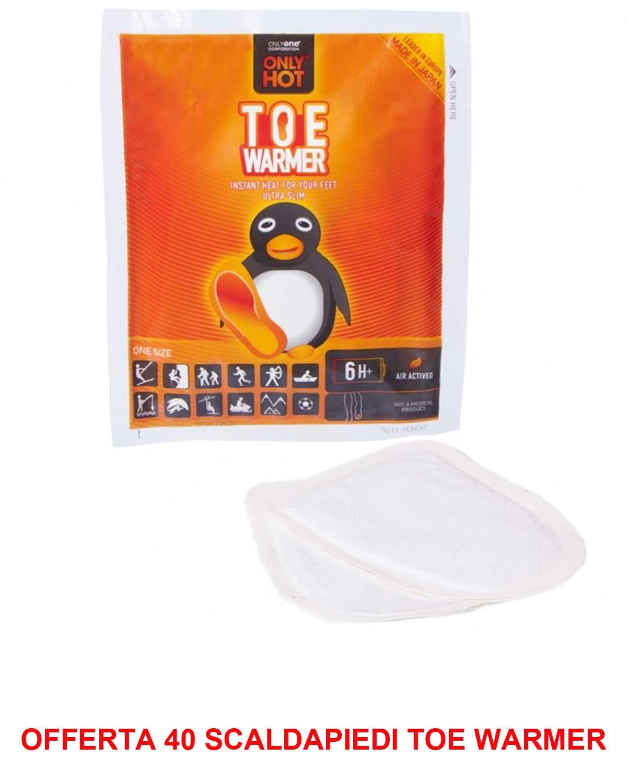 ANGEBOT 40 Paar Fußwärmer Toe Warmer Sport Only Hot selbsterhitzendes Beutel