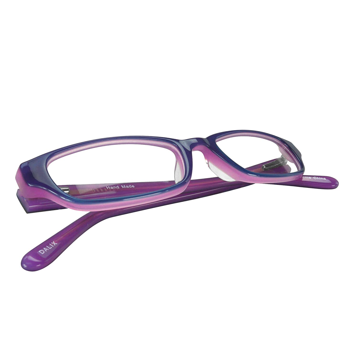 8d4b35036b1 Childrens Girls Prescription Eyeglasses Frames in Purple 47-17-130   Amazon.in  Clothing   Accessories