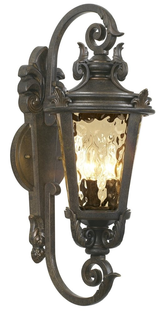 Casa Marseille 21 1/2''H Veranda Bronze Outdoor Wall Light by John Timberland