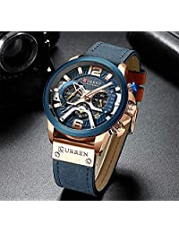 Relógio Masculino Curren Original Prova D'água