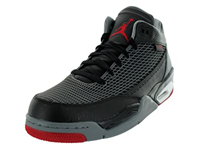 e8ac9f29ee5 Jordan Nike Men's Flight Club 80's Black/Gym Red/Cool Grey/White Basketball