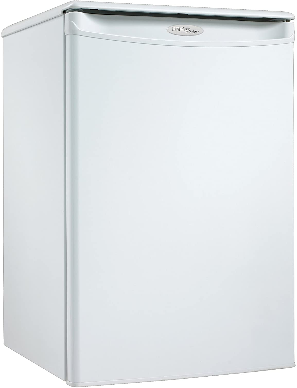 Danby Designer 2.6 cu. ft. Compact Refrigerator (DAR026A1WDD), White