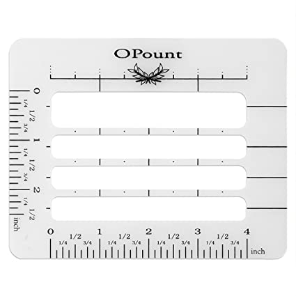 Amazon.com: OPount Envelope Addressing Guide Stencil Template Fits ...