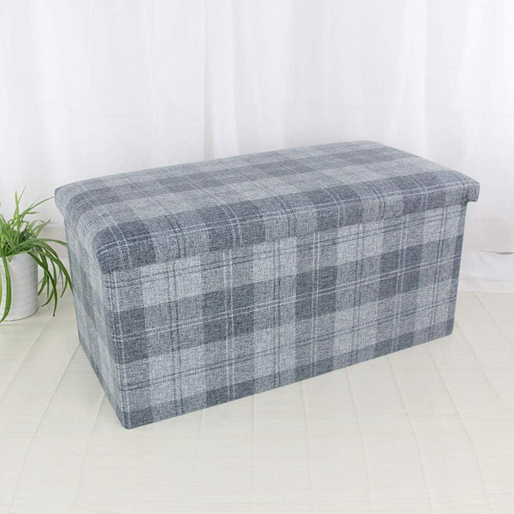 長方形の貯蔵のオスマンのソファーの腰掛け、ソファーの座席のフィートの腰掛けの変更の靴の腰掛けのオスマンの収納箱、38×38×76cm B