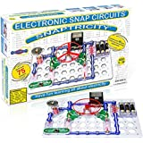 Snap Circuits Snaptricity Electronics Exploration Kit | Over 75 STEM Projects | 4-Color Project Manual | 40 Snap Modules | Unlimited Fun