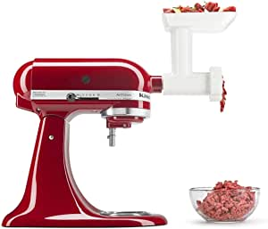 KitchenAid 5FGA Food Grinder for Stand Mixers, White