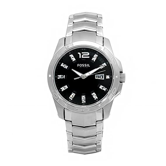 8a698508c Buy Fossil Designer Analog Black Dial Men's Watch AM4089 Online at Low  Prices in India - Amazon.in