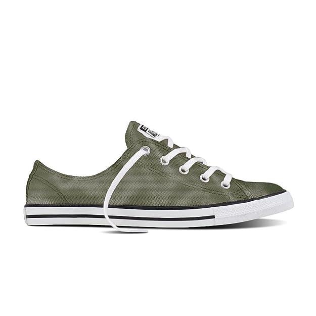 Converse , Damen Sneaker Grün olivgrün, Grün olivgrün