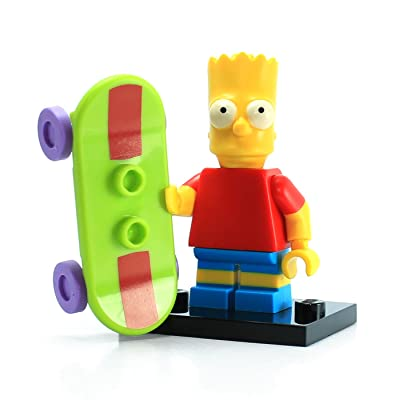 Lego 71005 The Simpsons Series Bart Simpson Character Minifigures: Toys & Games [5Bkhe0402374]