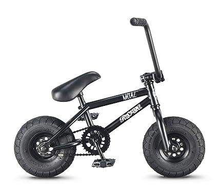 Amazon.com: Rocker BMX Mini bicicleta BMX irok + Metal ...