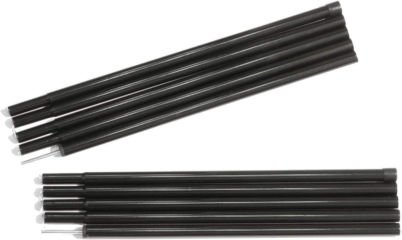 Sutekus Steel Rod Tent Pole Replacement Accessorie 2pc/Set Adjustable Bars