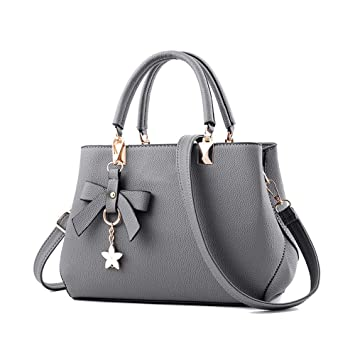 0627800ac255 OneMoreT Women Fashion Handbag Shoulder Zip Bag Bowknot Messenger Large  Tote Ladies Purse  Amazon.co.uk  Musical Instruments