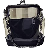 Baofashion Women's Transparent PC and PU Shoulder Bag for Spring and Summer