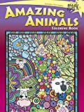img - for SPARK Amazing Animals Coloring Book (Dover Spark: Dover Coloring Books for Children) book / textbook / text book