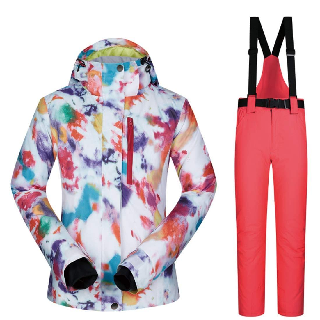 Zebuakuade Snowsuit da Donna Donna Donna Invernale Antivento e Impermeabile con Giacca e Pantaloni da Sci (Coloree   06, Dimensione   L)B01JBND2EWS 06 | Negozio famoso  | Moda E Pacchetti Interessanti  | Alta qualità ed economia  | Conveniente  | Il colore è molt b8e10d
