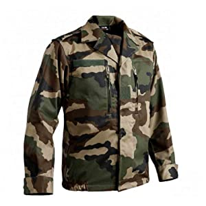 T.O.E - Veste Treillis Militaire F2 Camouflage