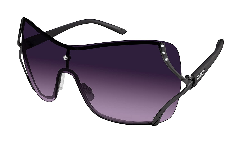 8d67ac18f6 Amazon.com  Southpole Women s 454sp-gun Shield Sunglasses
