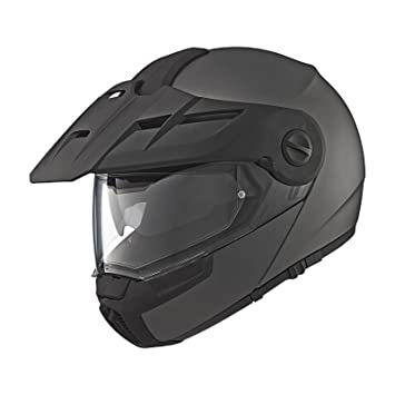 Amazon.es: Schuberth E1 Casco de moto, color gris antracita mate, talla 3XL