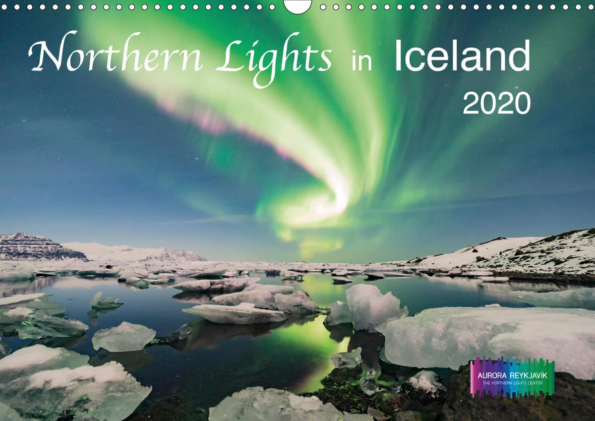 Northern Lights In Iceland 2020  Wall Calendar 2020 DIN A3 Landscape