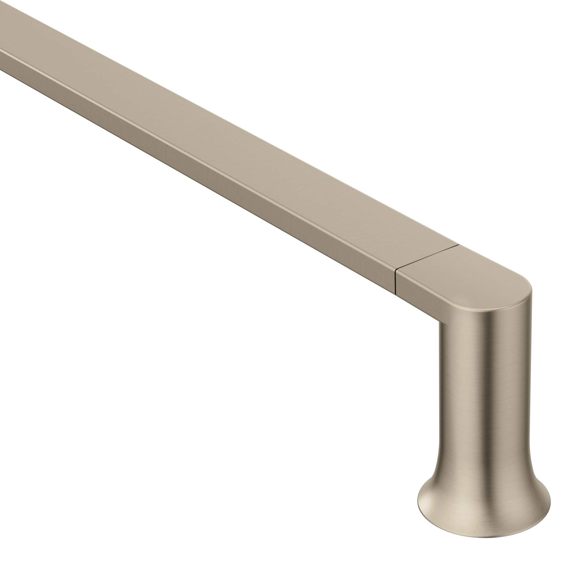 Moen BH3824BN Genta Modern 24-Inch Towel Bar, Brushed Nickel by Moen