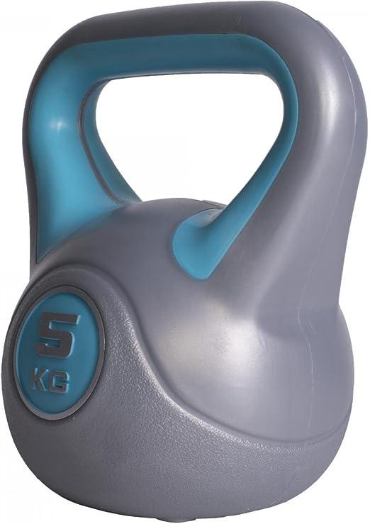 Einzeln//Set GORILLA SPORTS/® Kettlebell Stylish 2-20 kg Kunststoff Fitness-Kugelhantel