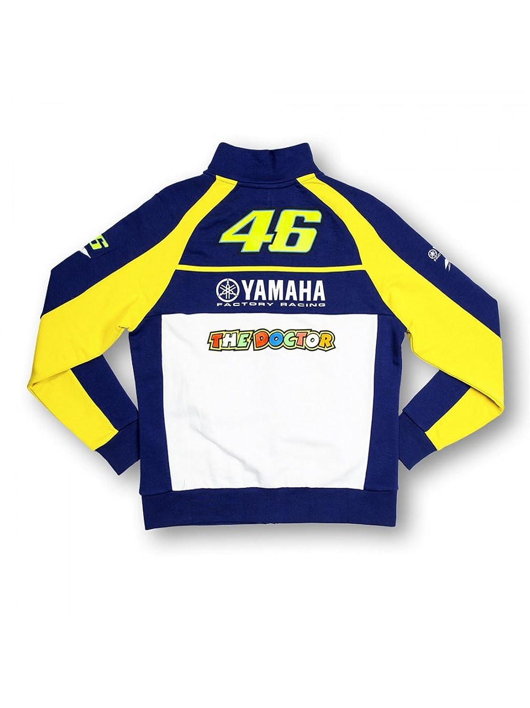 Valentino Rossi Chaqueta Mujer Yamaha Track Azul-Amarillo ...
