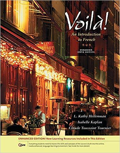 Ebook deutsch kostenlos downloaden Voila! An Introduction to French, Enhanced (World Languages) by  PDF FB2 iBook B00B7M7364