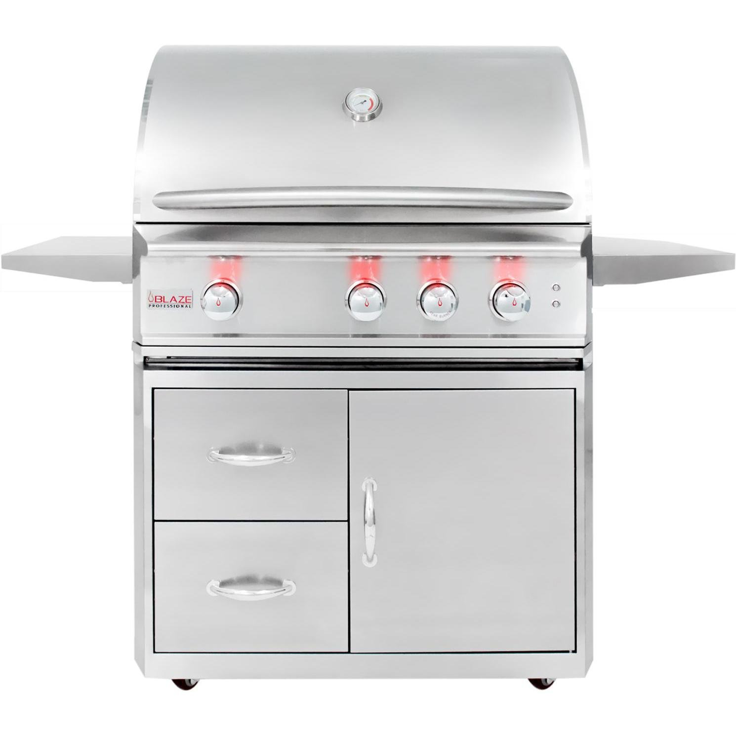 Amazon Blaze Professional 3 burner Natural Gas Grill With