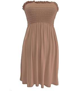 29f948fd70 Funky Fashion New Ladies Plain Strapless Boobtube Bandeau Summer Short  Sharing Top 8-22