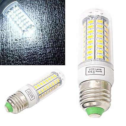 PSFS 8W Super Bright 48LED Corn Light Bulb for Residential and Commercial Projec E27 800Lm 220