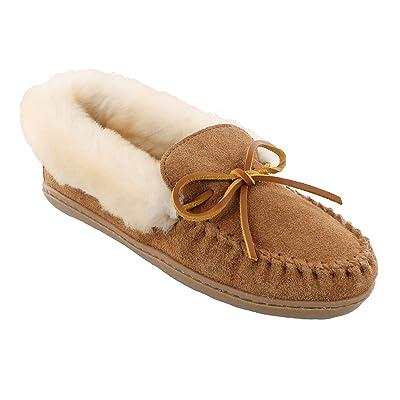 Minnetonka Women's Alpine Sheepskin Moc | Loafers & Slip-Ons
