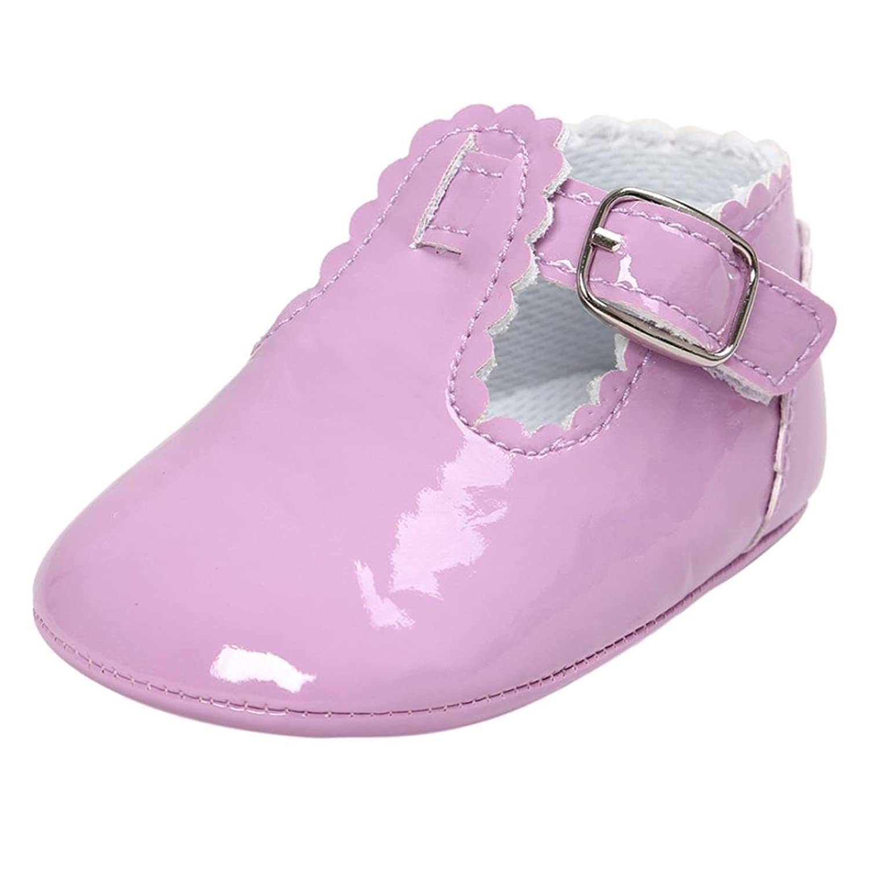 Zapatos Bebé niña Amlaiworld Bebé cuero princesa suave suela zapatos niña zapatillas