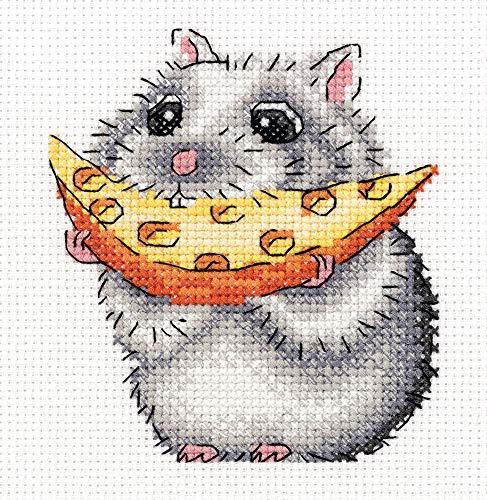 KLART Embroidery Kit - Cute Animals Cross Stitch Kits for Beginners - Cross Stitch Kits for Adults - Counted 4.75