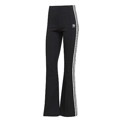 adidas Flared Trackpant Pantaloni A Zampa Donna Neri DV2602 ...