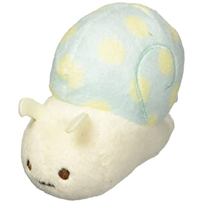 San-x Sumikko Gurashi Plush 2'' Fake Snail w/ Mini Name Tag: Toys & Games