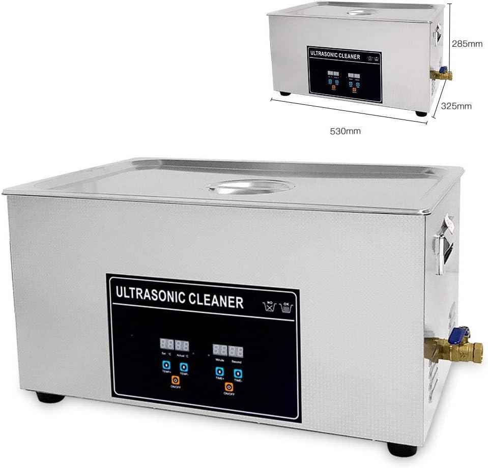 La limpieza por ultrasonidos máquina de gran tamaño industrial de limpieza Instrumento Accesorios Placa de circuito del oro y de la plata de tensión Laboratorio Médico 220V (110V no está disponible)