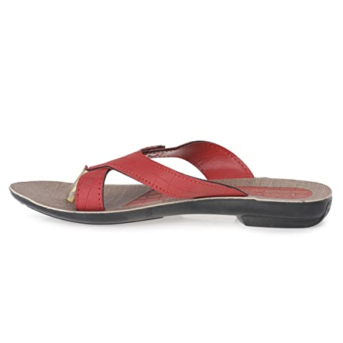 b1d2fcef7 PARAGON SOLEA Women s Beige Flip-Flops  Buy Online at Low Prices in India -  Amazon.in