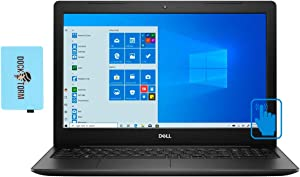 """Dell Inspiron 15 3593 Home and Business Laptop (Intel i7-1065G7 4-Core, 16GB RAM, 512GB PCIe SSD, Intel Iris Plus, 15.6"""" Touch HD (1366x768), WiFi, Bluetooth, Webcam, 2xUSB 3.1, Win 10 Home) with Hub"""