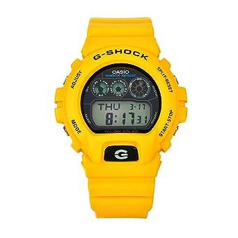 Casio Men S G6900a 9 G Shock Yellow Shock Resistant Black