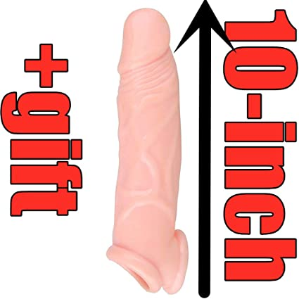 Amazon Com Fda 10 Inch Penis Sleeve Enlarger Ultra Lifelike