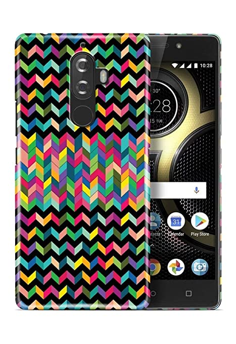 Knotyy DC-2117 Printed Back Cover for Lenovo K8 Plus: Amazon