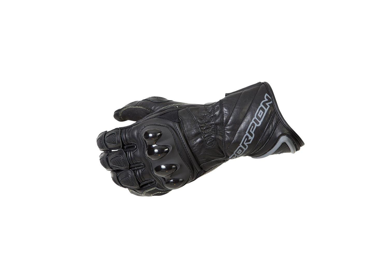 Scorpion Guardianメンズレザーオンロードオートバイ手袋 M ブラック G21-034 B00FJW0WLG M  M