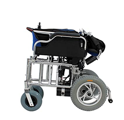 Silla De Ruedas Eléctrica Plegable De Gran Tamaño Extra Ancha Para Discapacitados