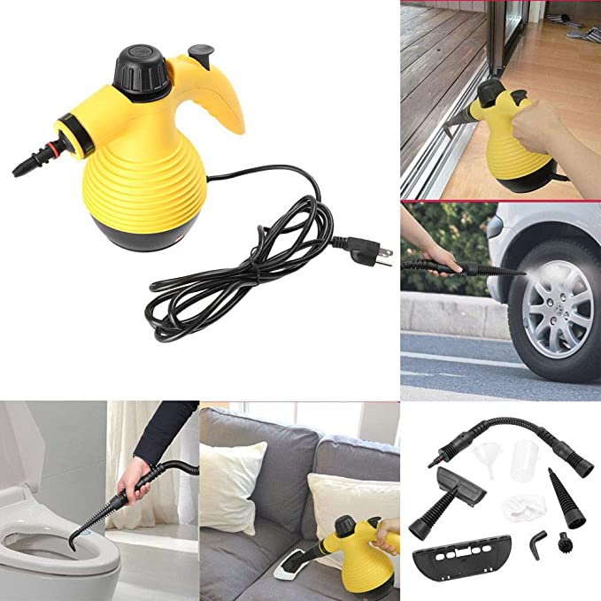 TAOtTAO Portable Steamer 10 ft Multifunction Portable Steamer Household Steam Cleaner 1050 W: Amazon.es: Hogar